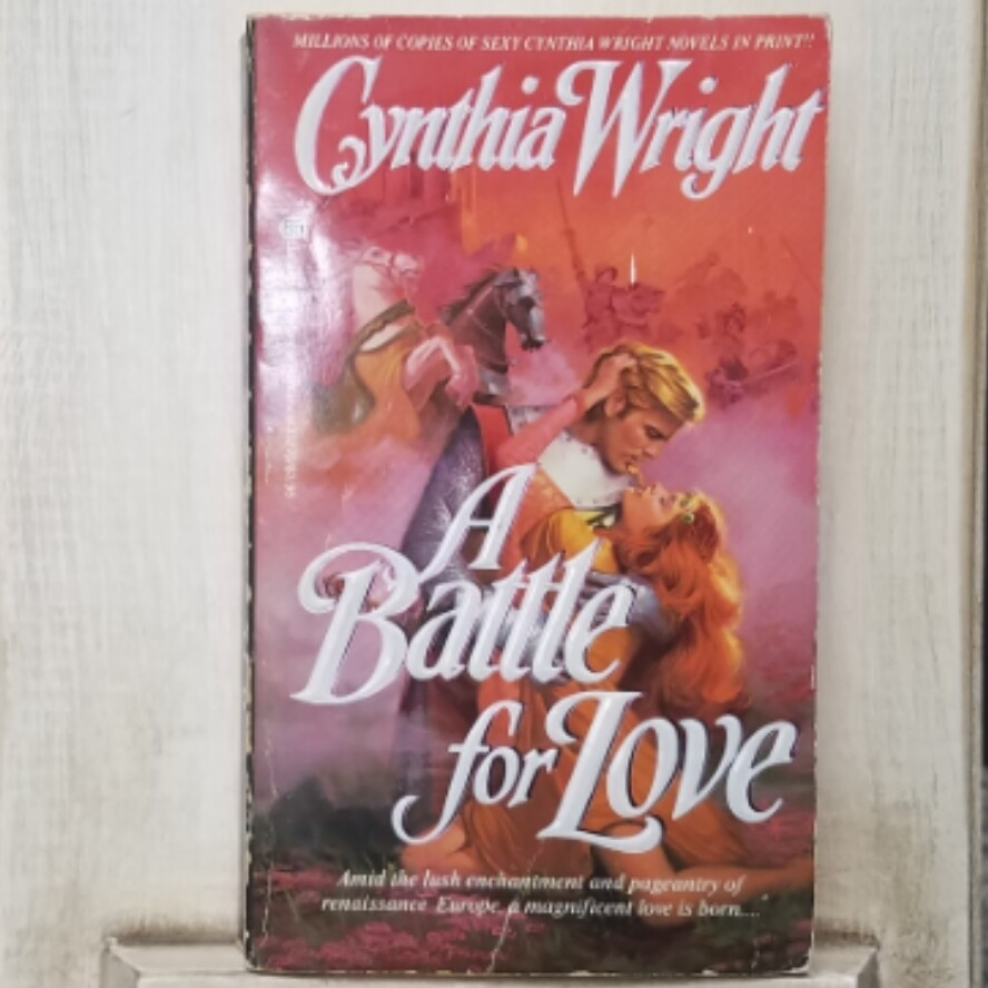 A Battle for Love by Cynthia Wright
