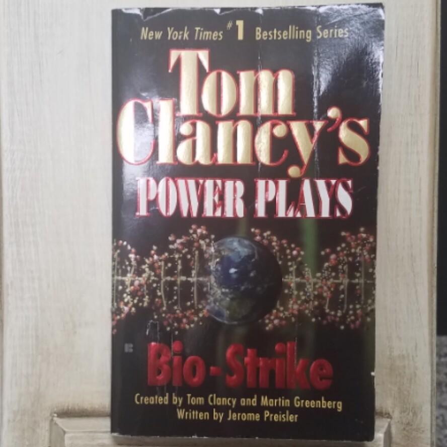 Power Plays: Bio-Strike by Tom Clancy and Martin Greenberg