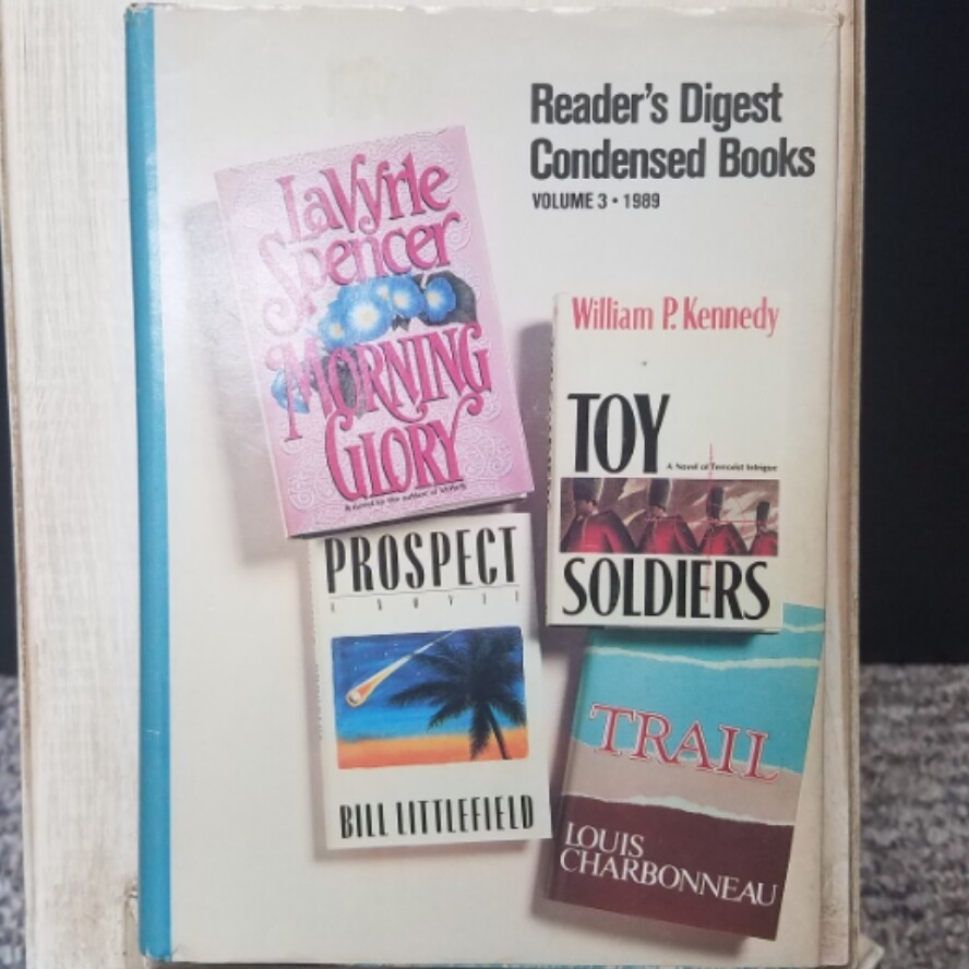 Morning Glory, Toy Soldiers, Prospect, and Trail by Readers Digest