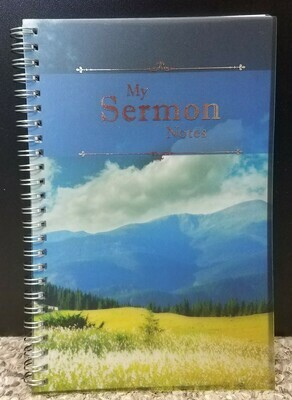 My Sermon Notes Wirebound Notebook
