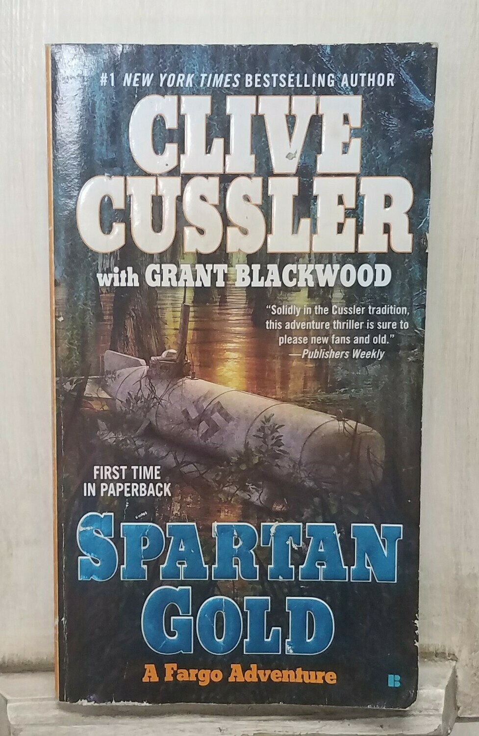Spartan Gold by Clive Cussler with Grant Blackwood