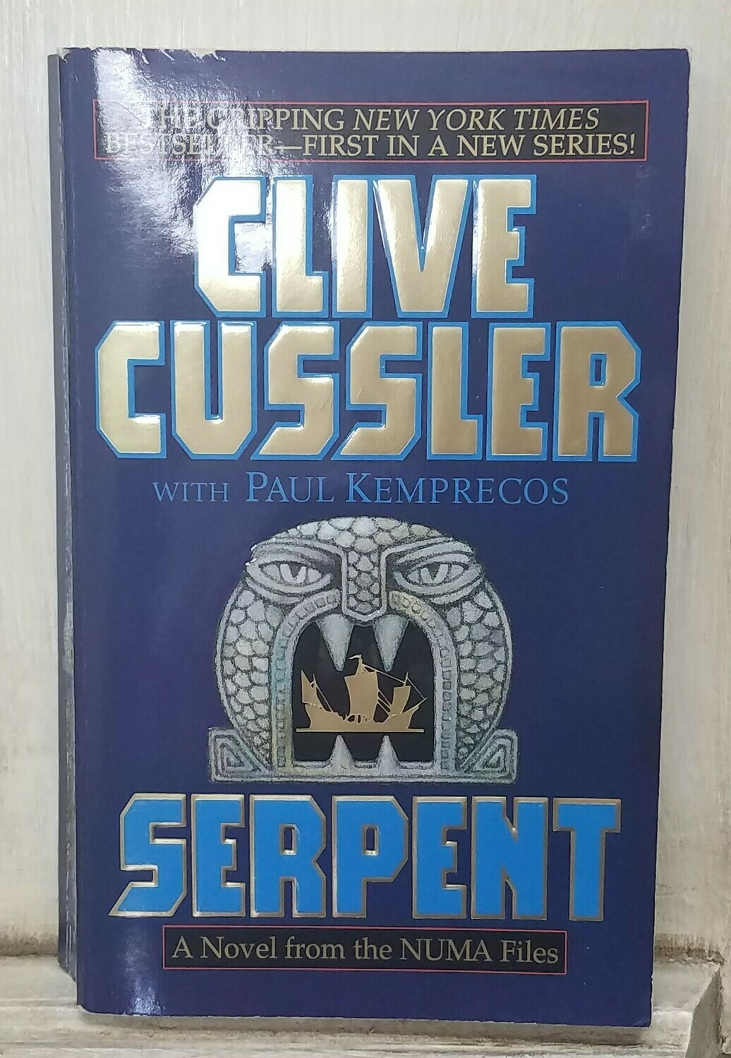 Serpent by Clive Cussler with Paul Kemprecos