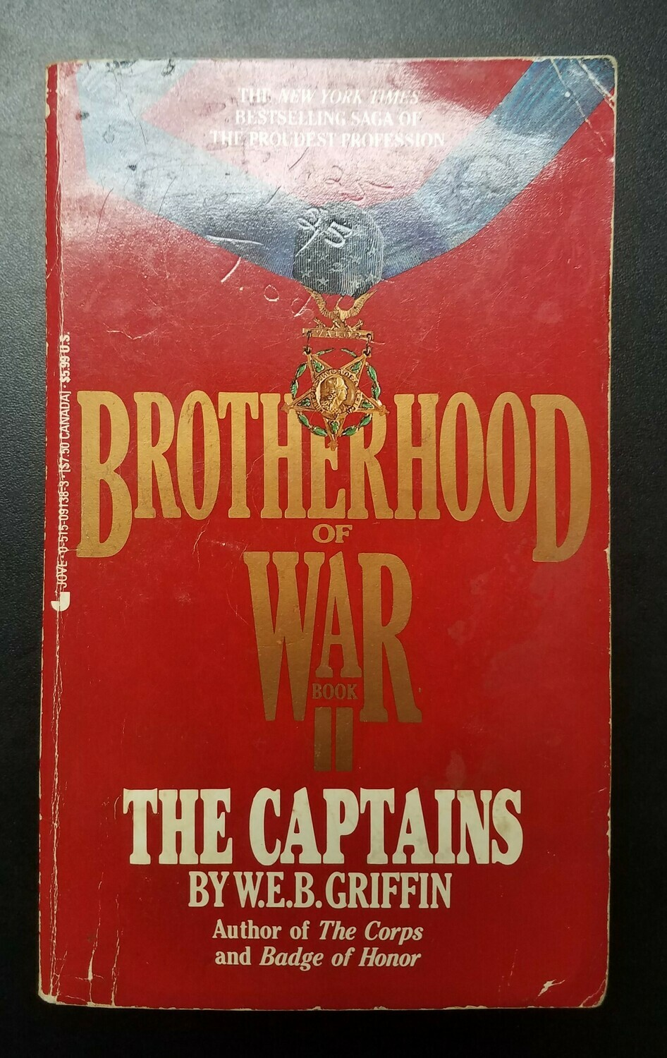 Brotherhood of War: The Captains by W.E.B. Griffin