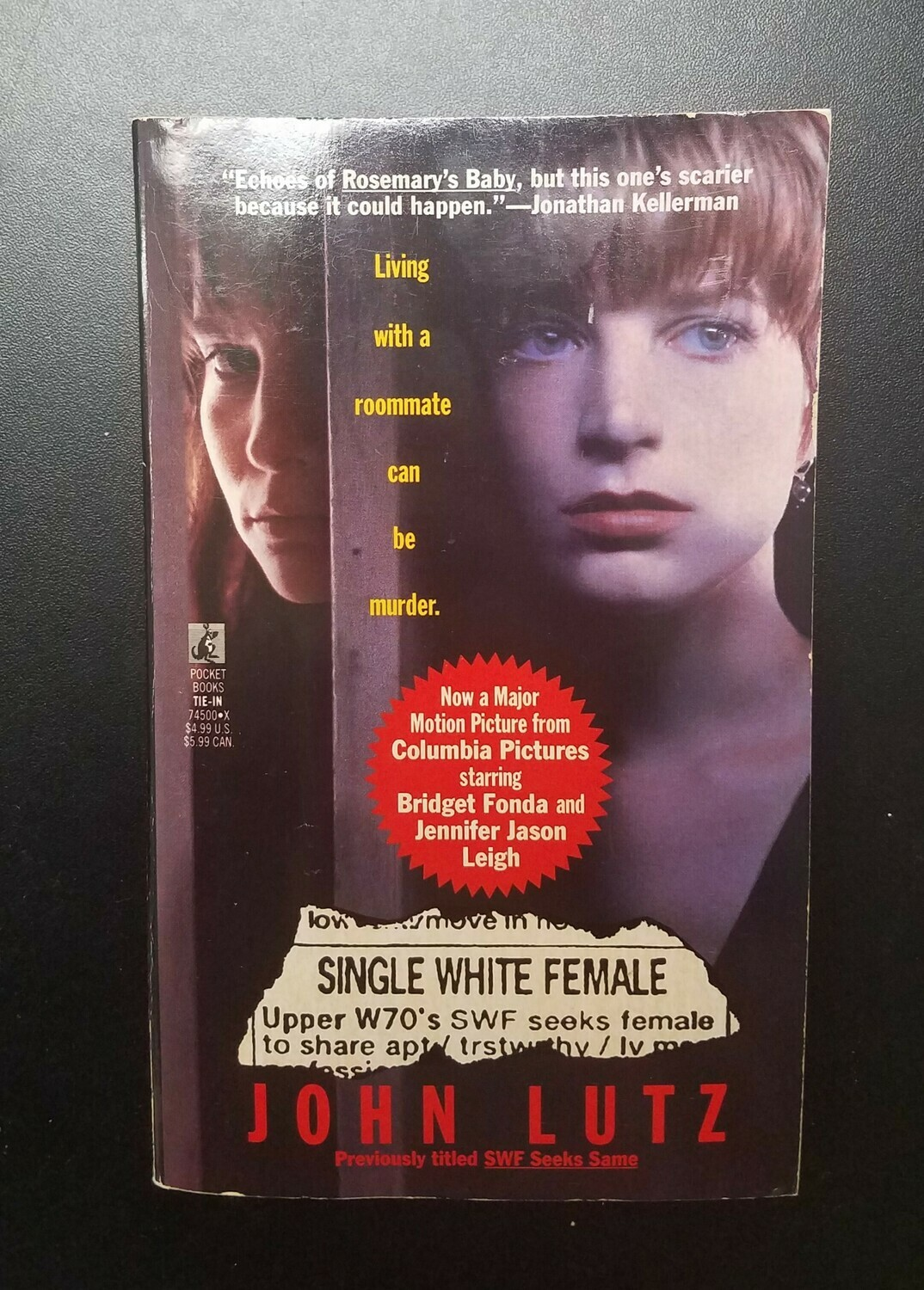 Single White Female by John Lutz
