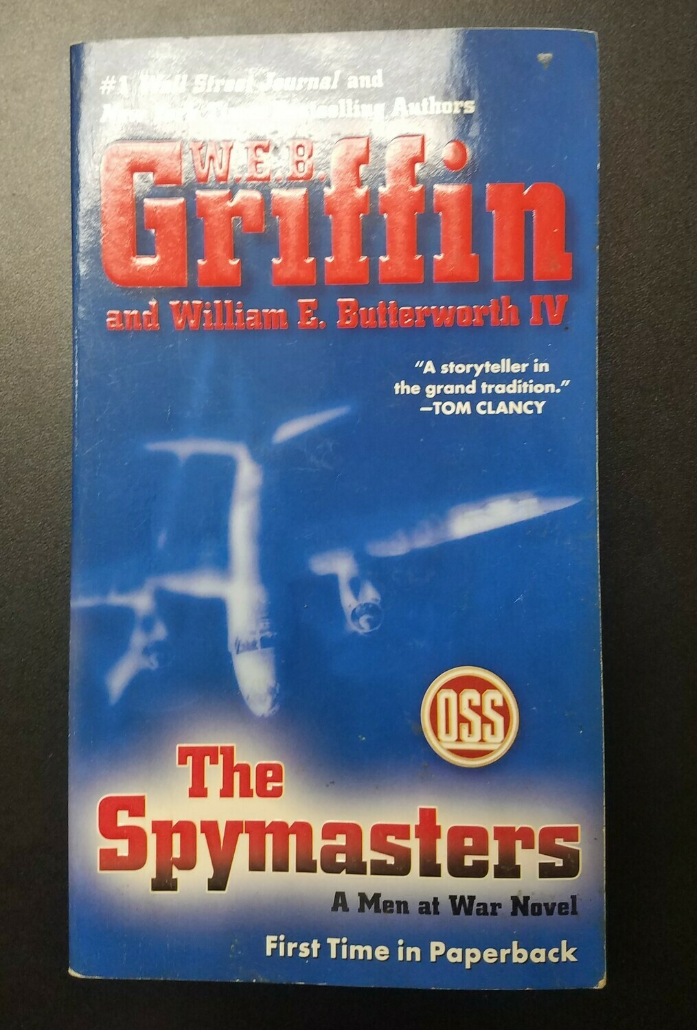 The Spymasters by W.E.B. Griffin and William E. Butterworth IV