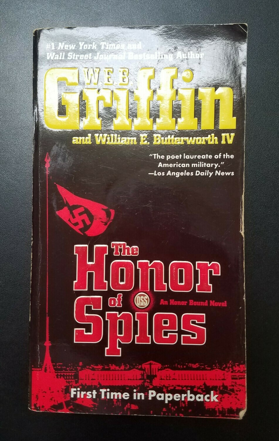 The Honor of Spies by W.E.B. Griffin and William E. Butterowrth IV