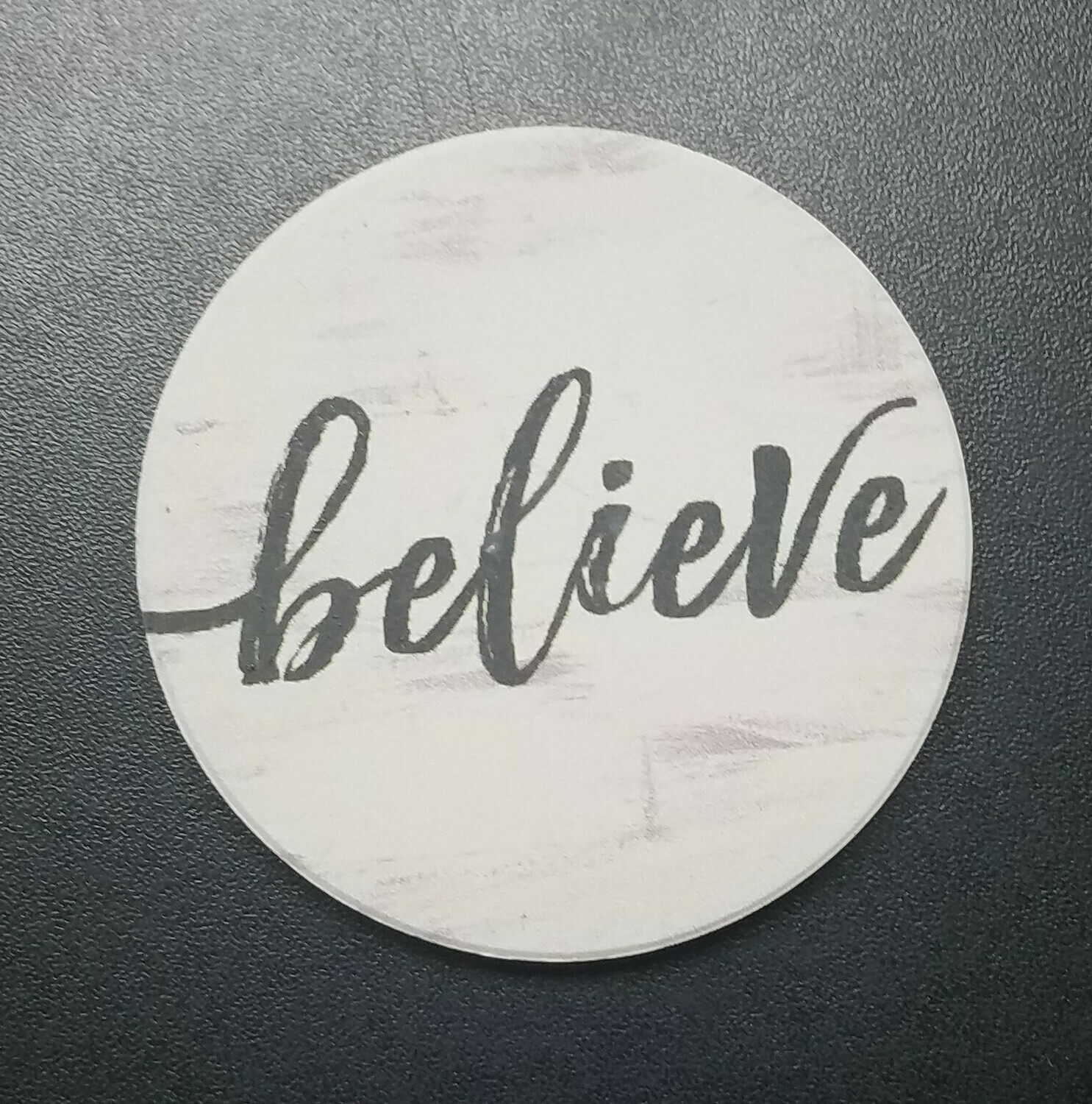 Believe Car Coaster