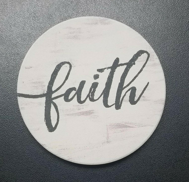 Faith Car Coaster