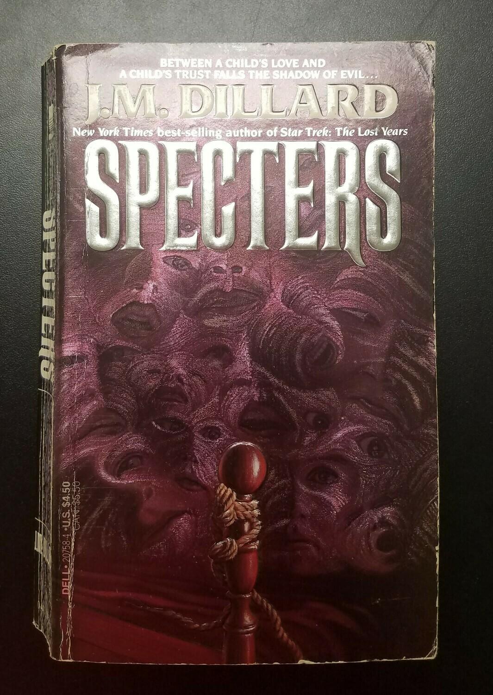 Specters by J.M. Dillard