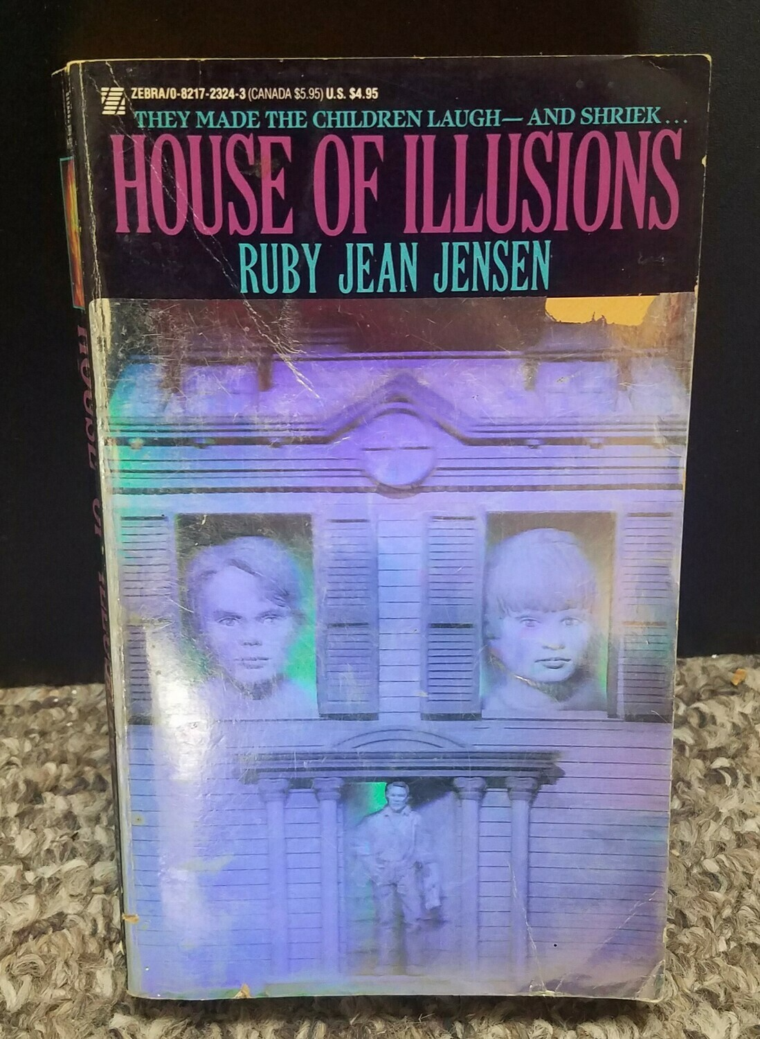 House of Illusion by Ruby Jean Jensen
