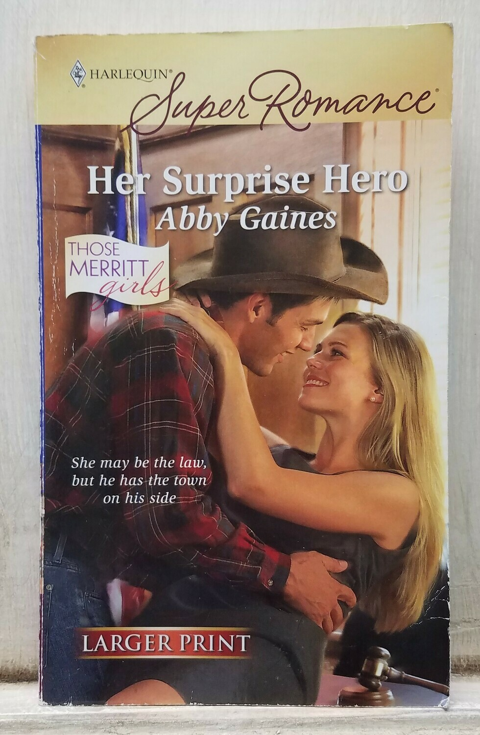 Her Surprise Hero by Abby Gaines