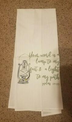 Light to My Path Tea Towel