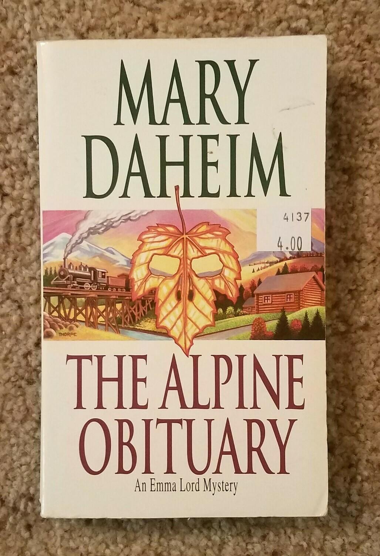 The Alpine Obituary by Mary Daheim