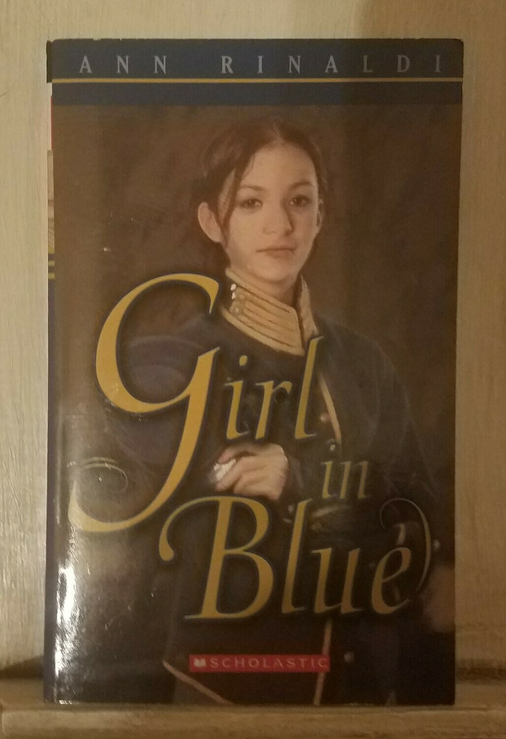 Girl in Blue by Ann Rinaldi