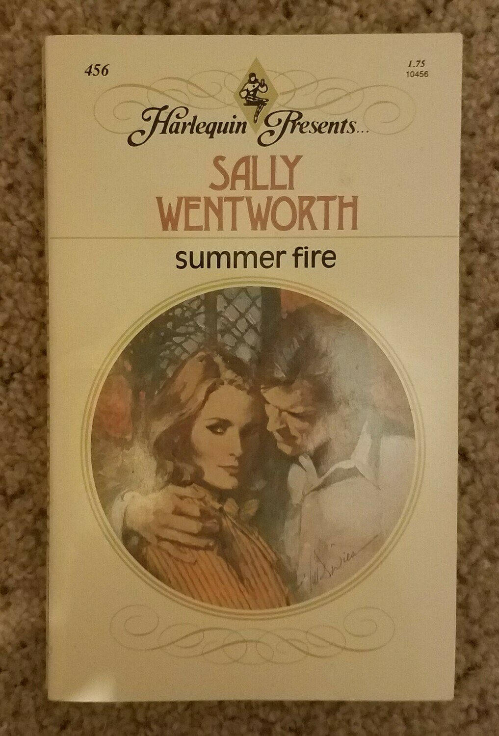 Summer Fire by Sally Wentworth