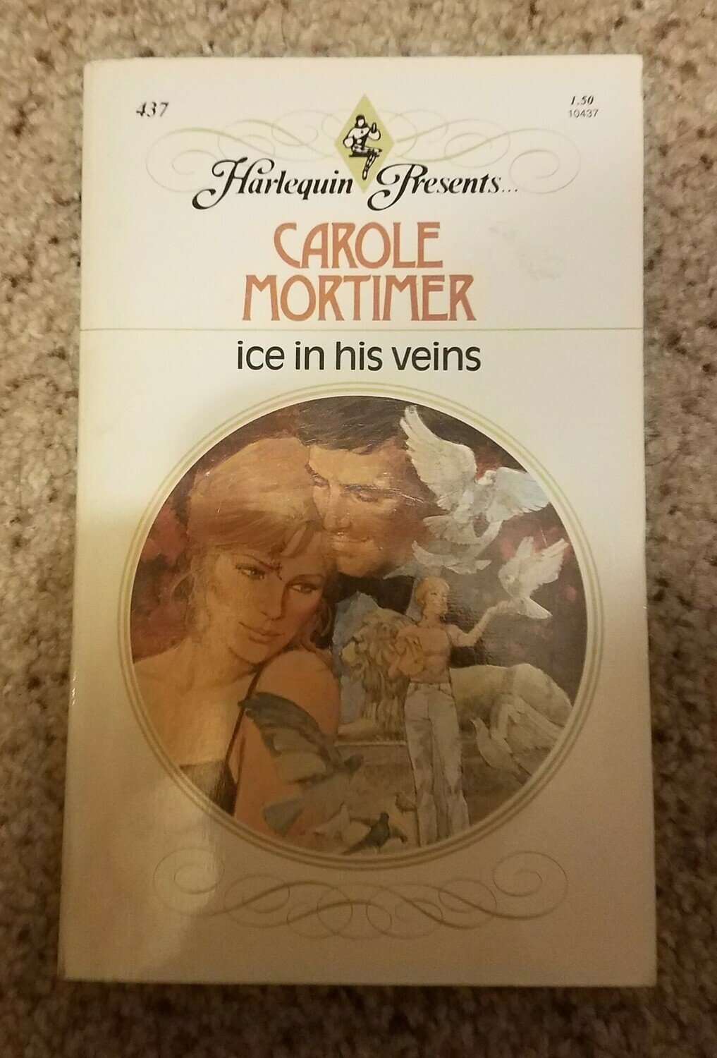 Ice in his Veins by Carole Mortimer