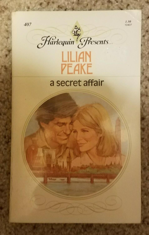 A Secret Affair by Lilian Peake