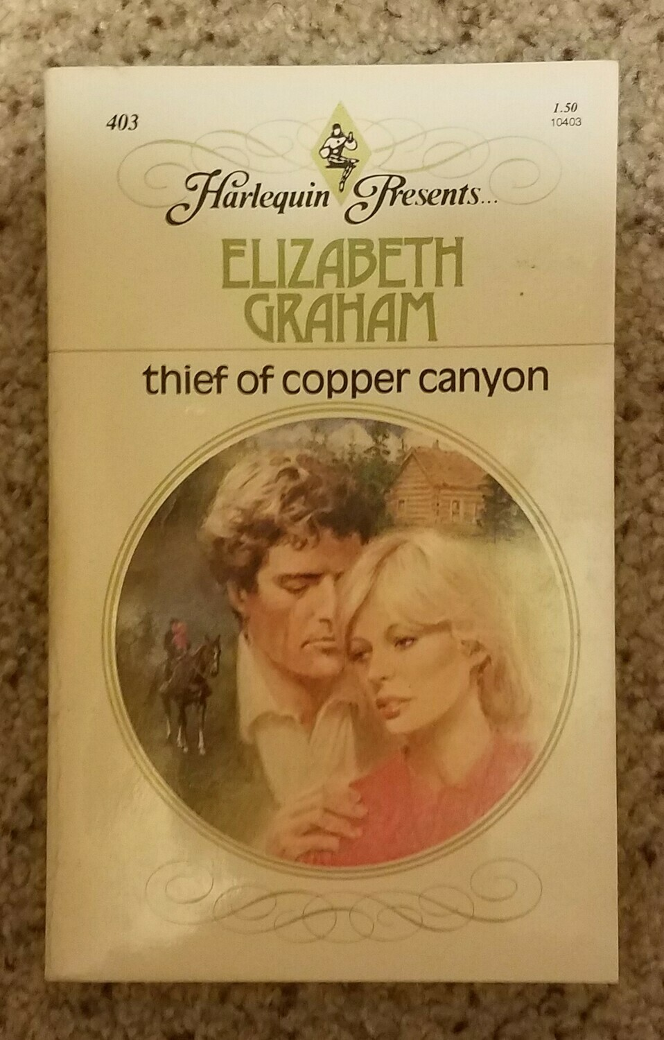 Thief of Copper Canyon by Elizabeth Graham