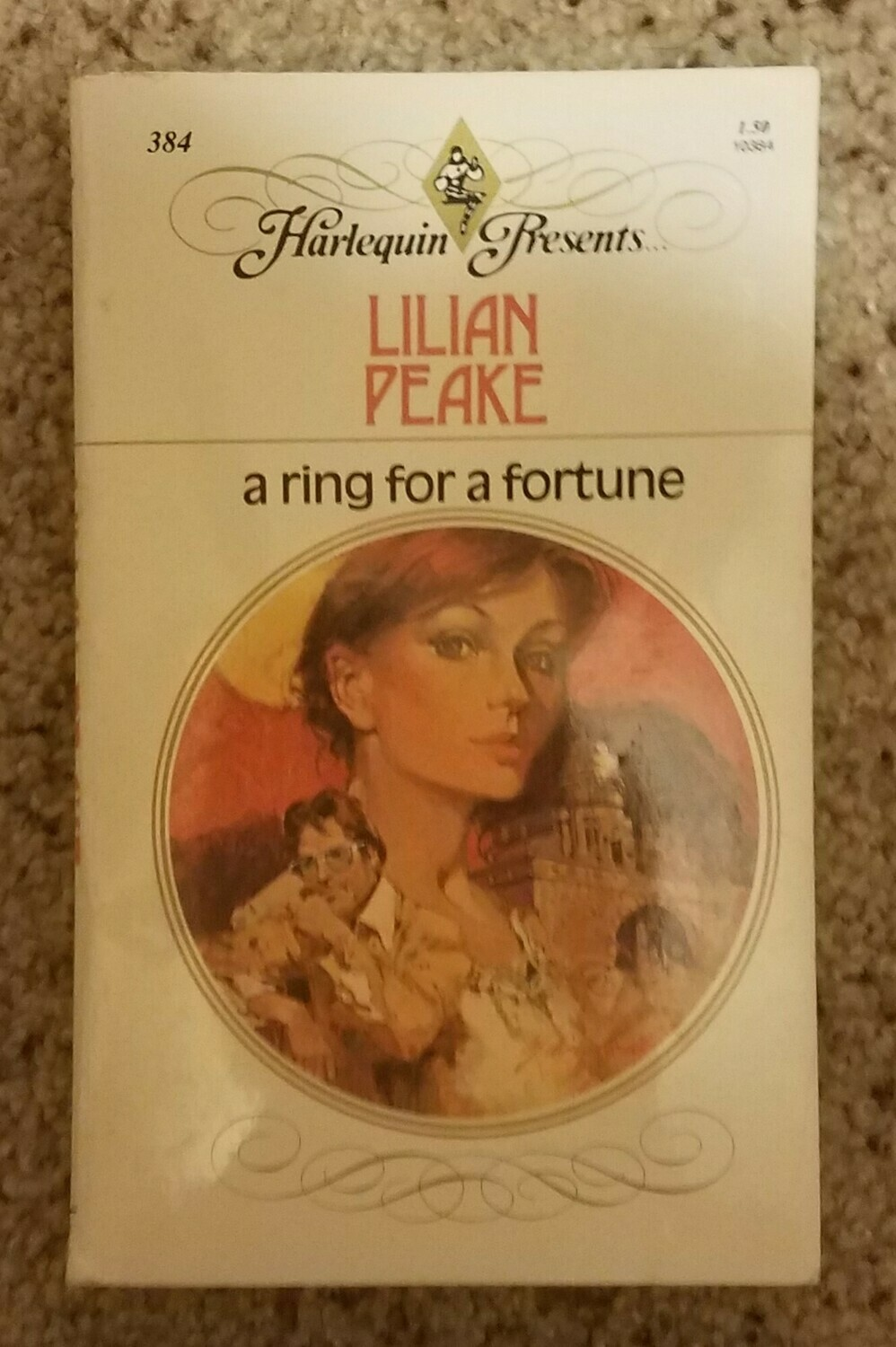 A Ring for a Fortune by Lilian Peake