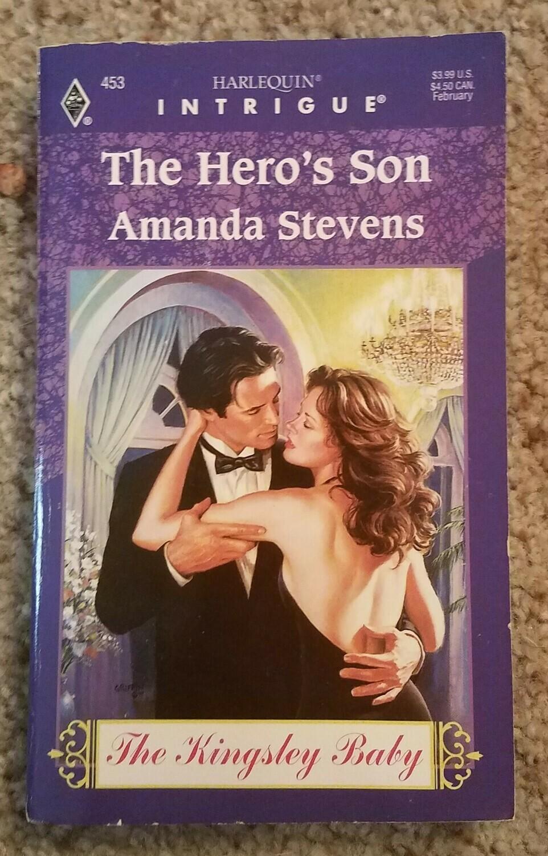 The Hero's Son by Amanda Stevens