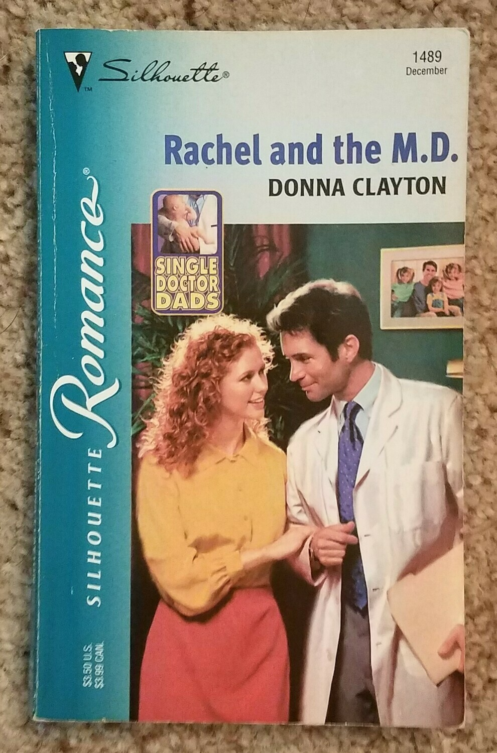 Rachel and the M.D. by Donna Clayton