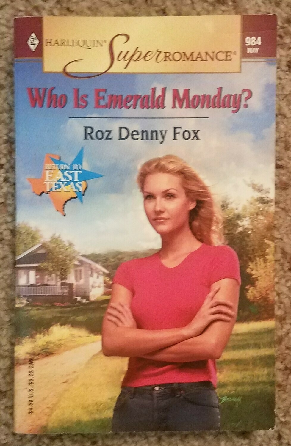 Who is Emerald Monday? by Roz Denny Fox