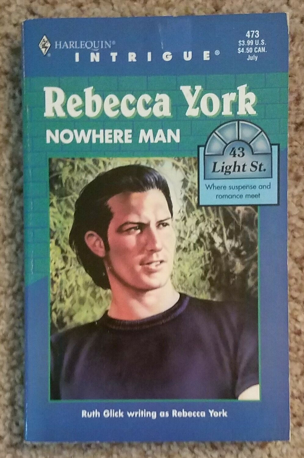 Nowhere Man by Rebecca York