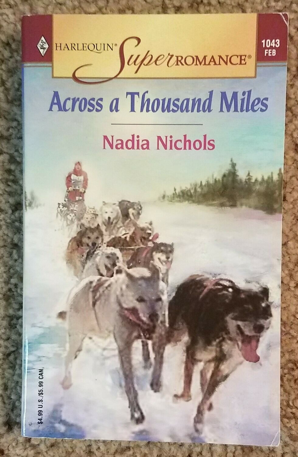 Across a Thousand Miles by Nadia Nichols