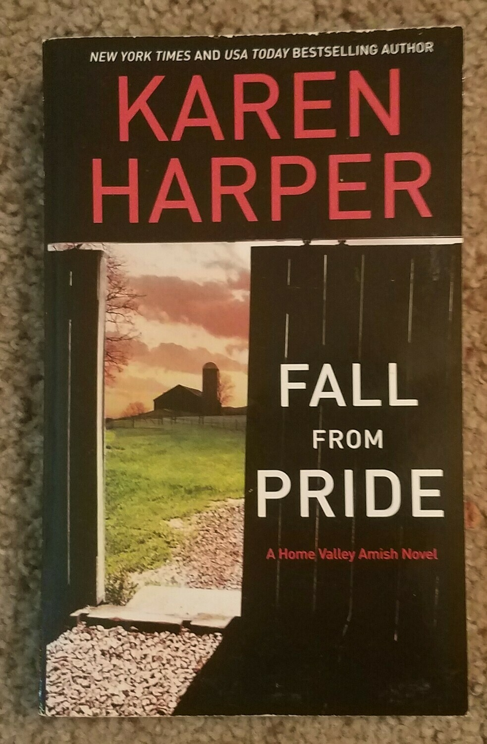 Fall from Pride by Karen Harper