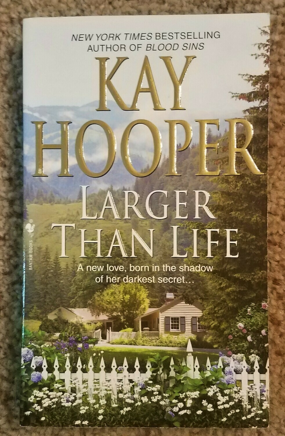 Larger Than Life by Kay Hooper