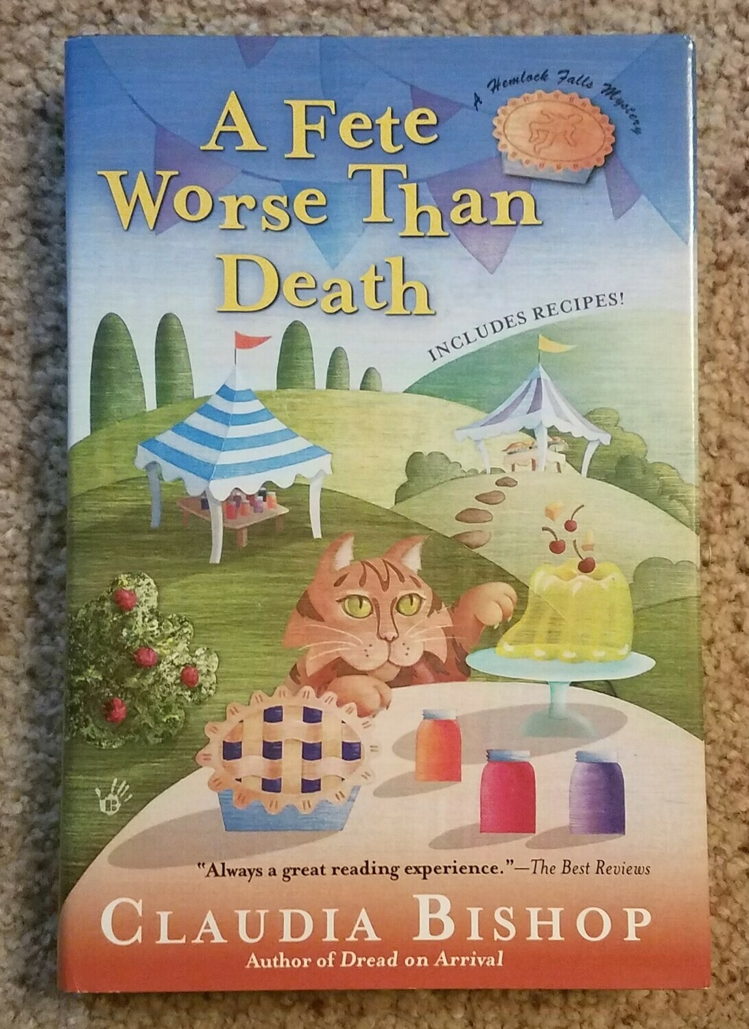 A Fete Worse Than Death by Claudia Bishop