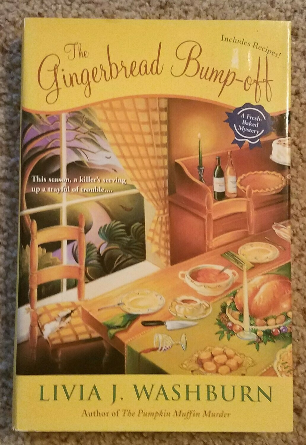 The Gingerbread Bump-off by Livia J. Washburn
