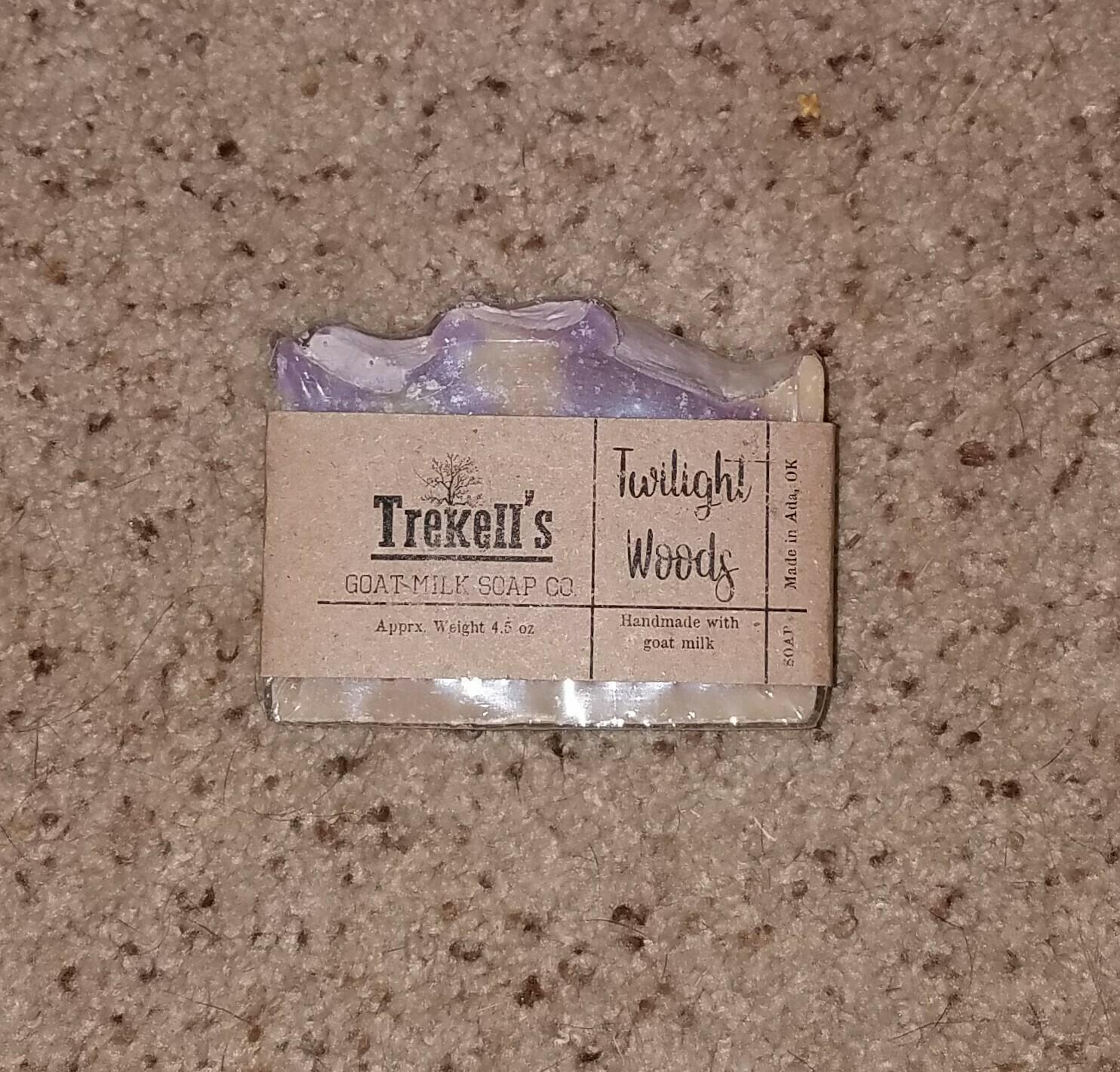Goat's Milk Bar Soap - Twilight Woods