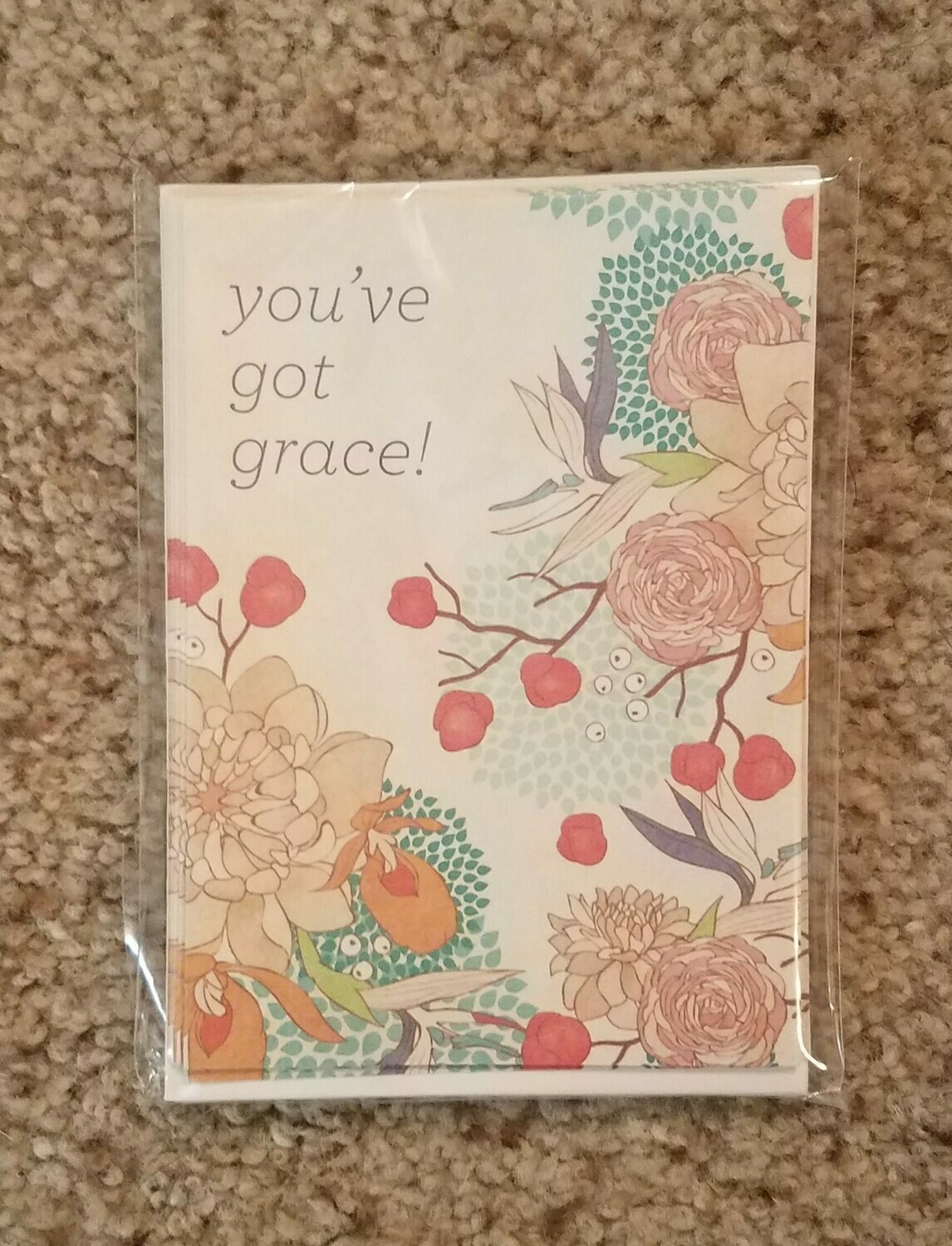 1st Corinthians Grace Card and Envelope Package