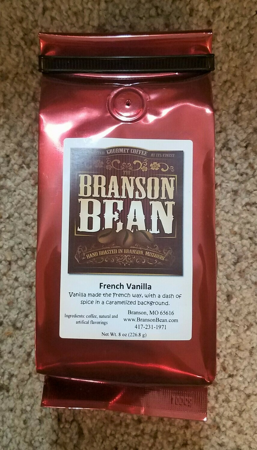 Branson Bean Coffee - French Vanilla