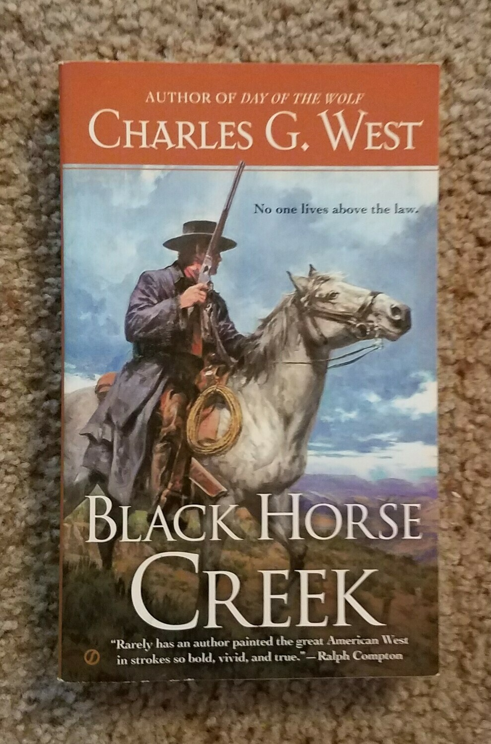 Black Horse Creek by Charles G. West