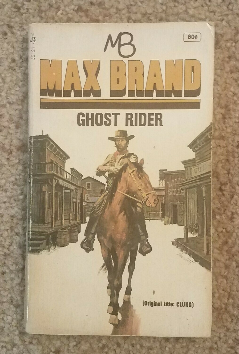 Ghost Rider by Max Brand