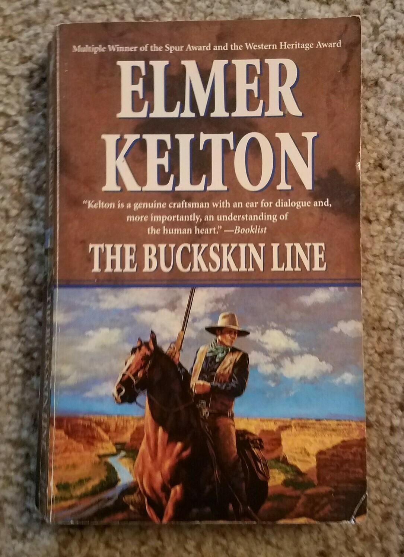 The Buckskin Line by Elmer Kelton