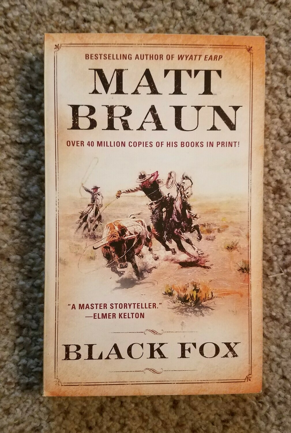 Black Fox by Matt Braun