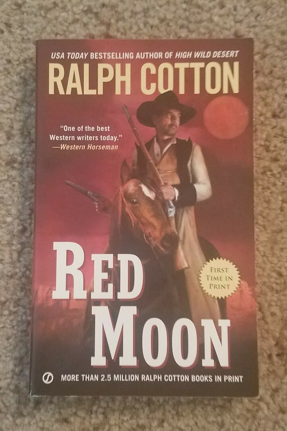 Red Moon by Ralph Cotton