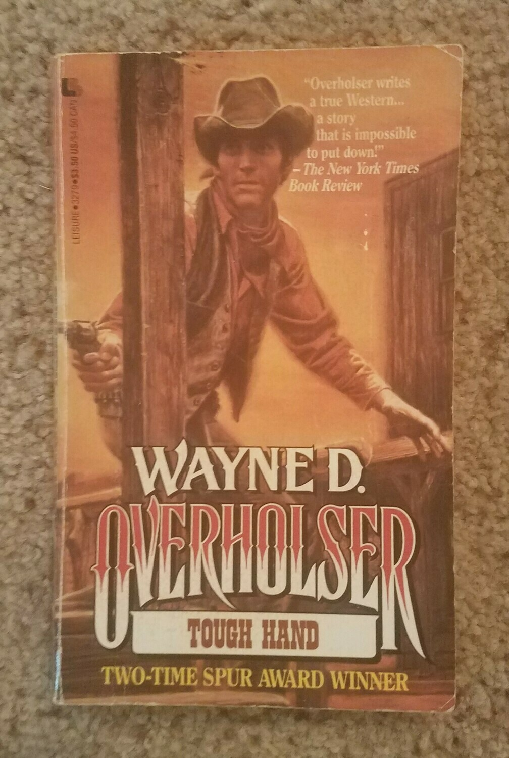 Tough Hand by Wayne D. Overholser