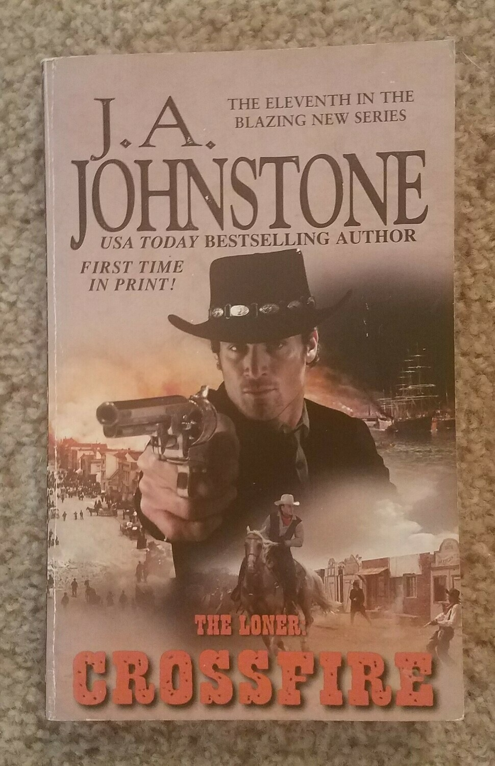 The Londer: Crossfire by J.A. Johnstone
