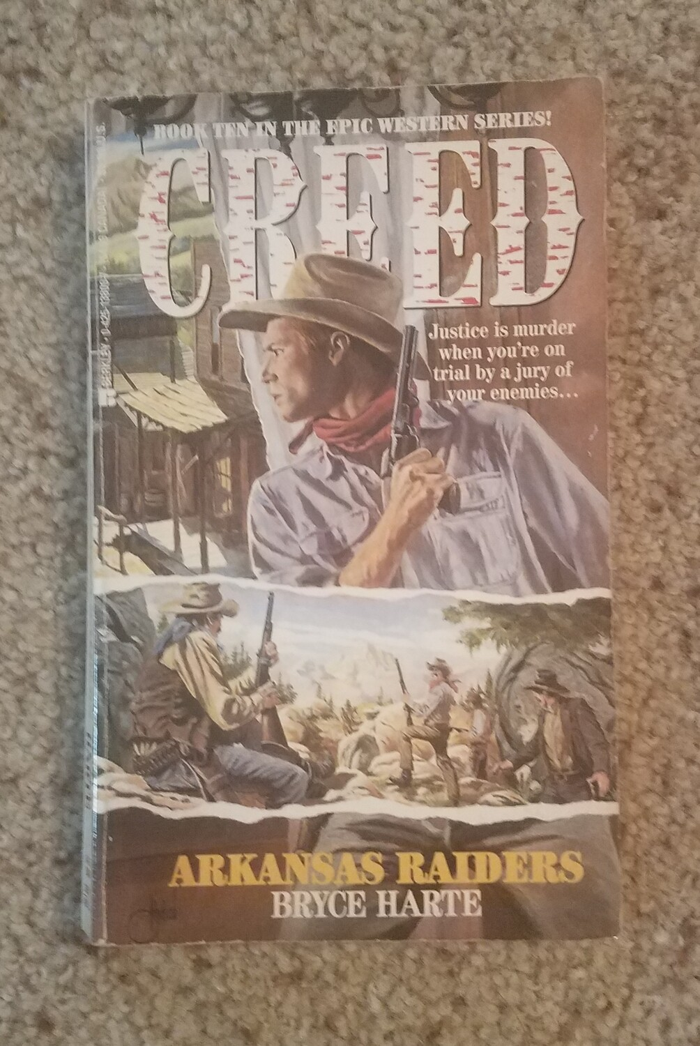 Creed: Arkansas Raiders by Bryce Harte