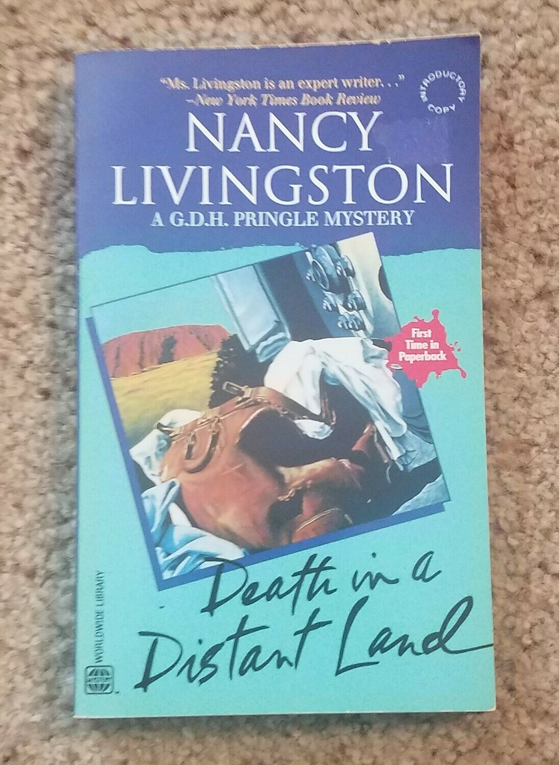 Death in A Distant Land by Nancy Livingston