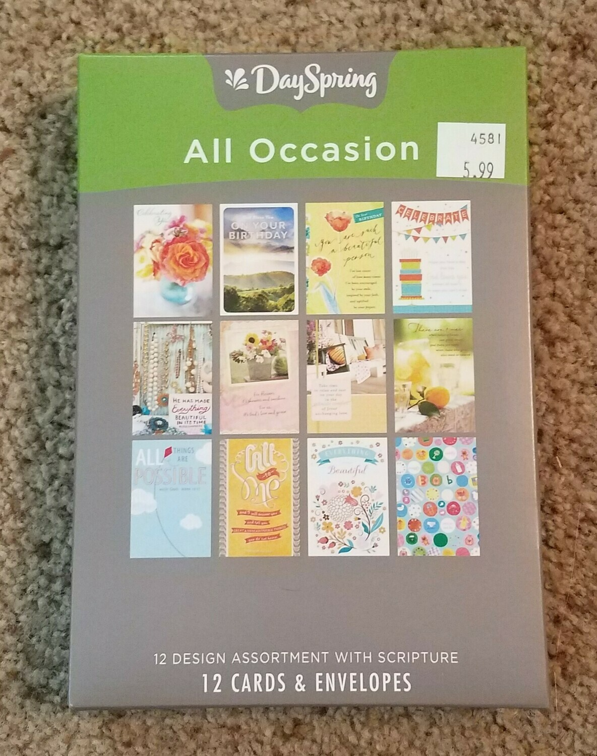 Dayspring Box Cards - Assortment of Cards