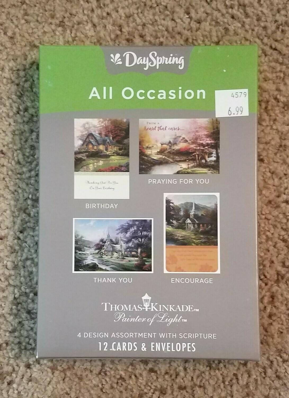 Dayspring Box Cards - Thomas Kinkade Version