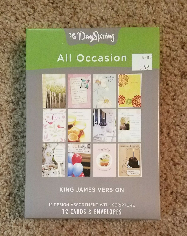 Dayspring Box Cards - King James Version