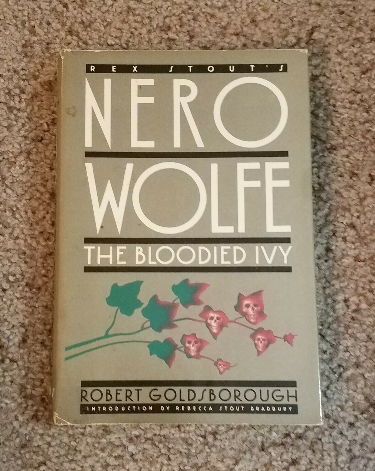 Nero Wolfe: The Bloodied Ivy by Robert Goldsborough
