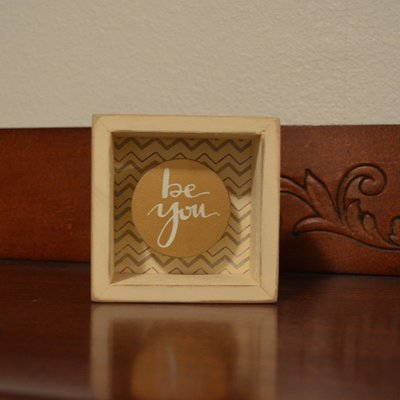 Be You Shadow Box by Primitives by Kathy
