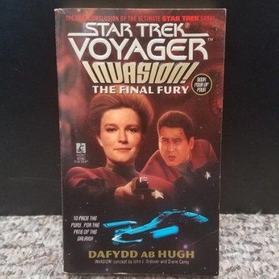 Star Trek Voyager Invasion: The Final Fury by Dafydd AB Hugh